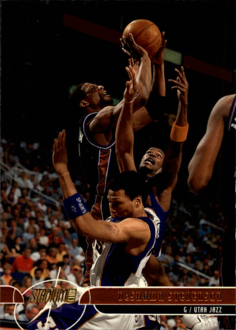 2001-02 Stadium Club #98 DeShawn Stevenson