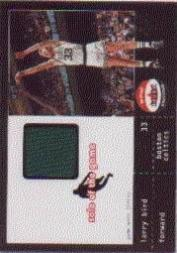 2001-02 Fleer Shoebox Sole of the Game Jersey #9 Larry Bird