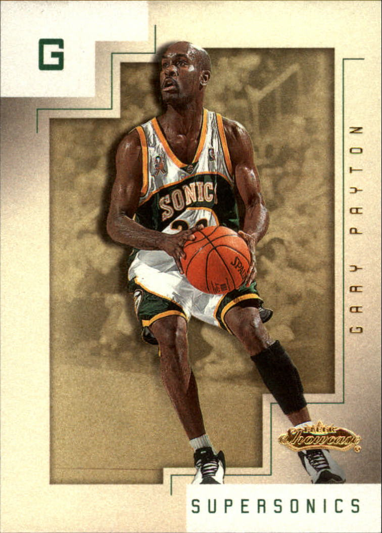 2001-02 Fleer Showcase #48 Gary Payton