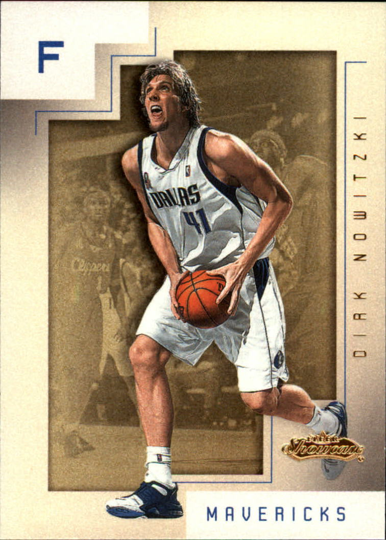 2001-02 Fleer Showcase #77 Dirk Nowitzki