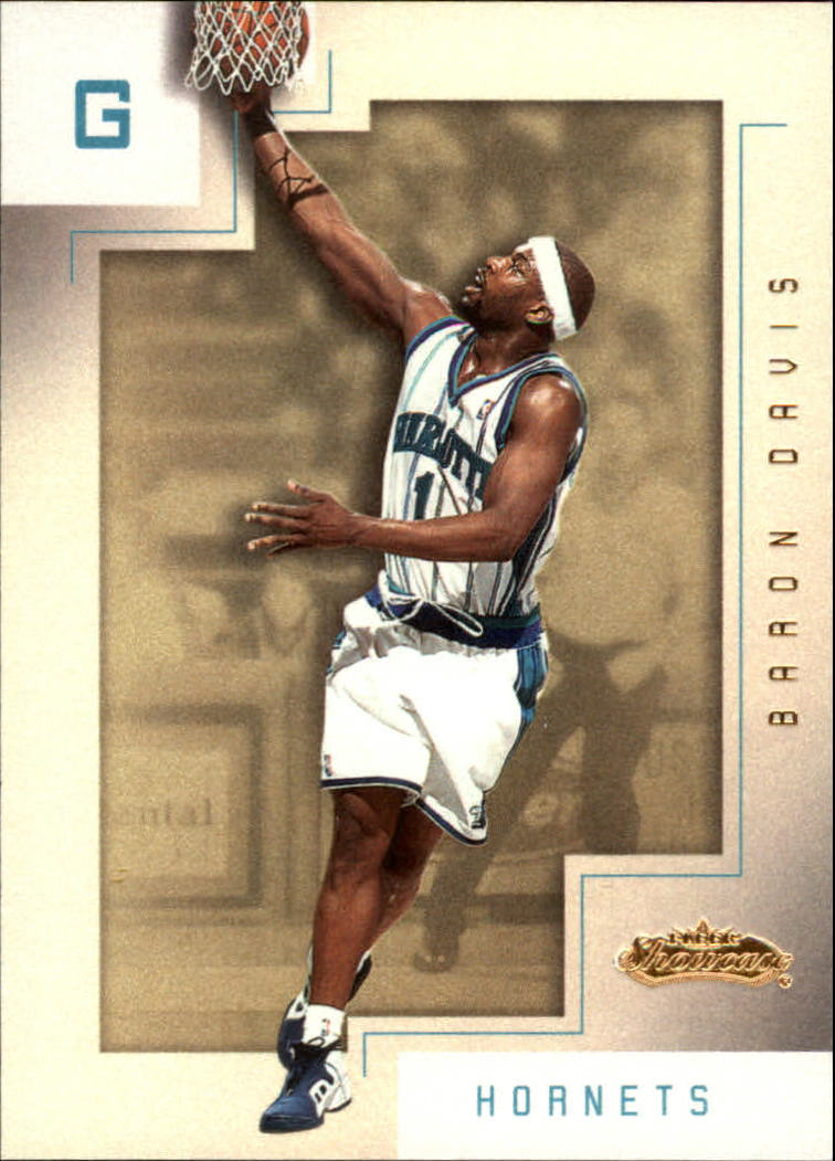 2001-02 Fleer Showcase #84 Baron Davis
