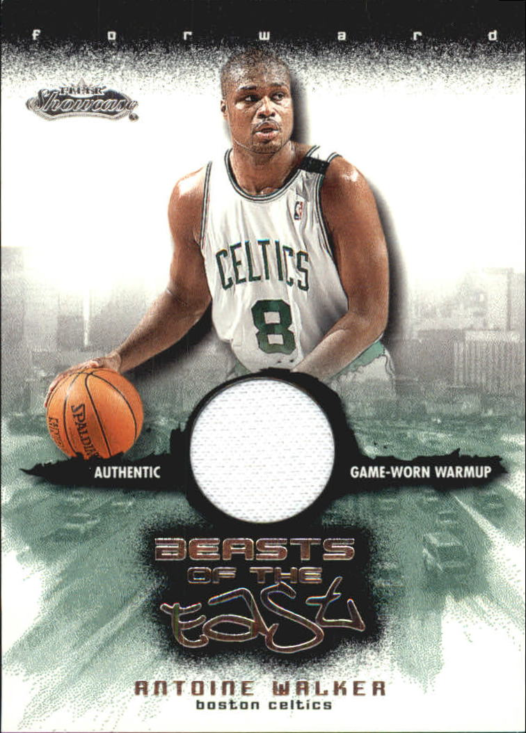 2001-02 Fleer Showcase Beasts of the East #7 Antoine Walker