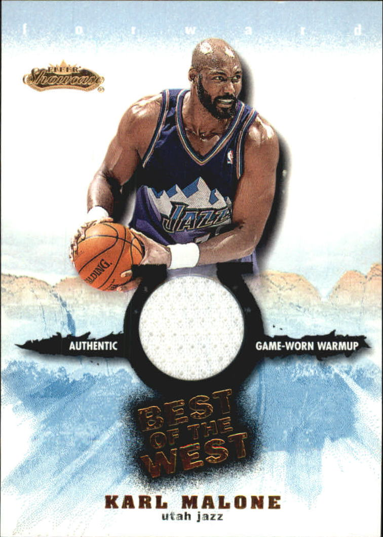 2001-02 Fleer Showcase Best of the West #2 Karl Malone