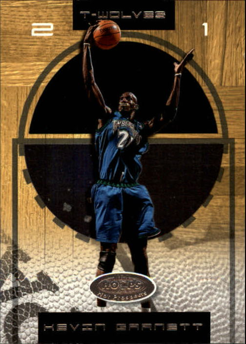 2001-02 Hoops Hot Prospects #4 Kevin Garnett