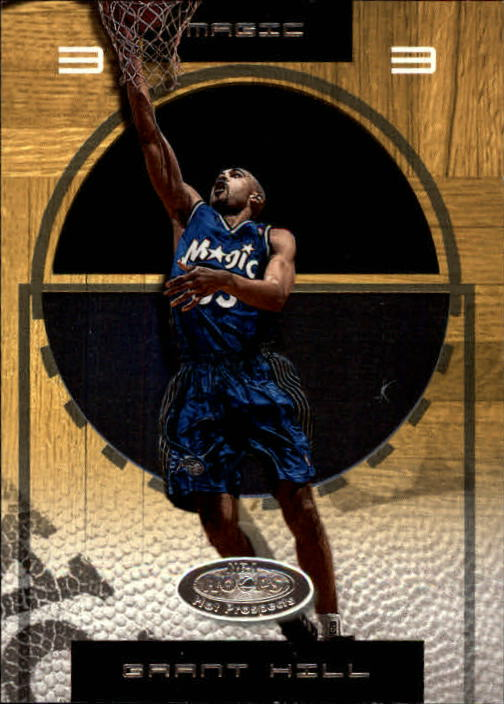 2001-02 Hoops Hot Prospects #47 Grant Hill