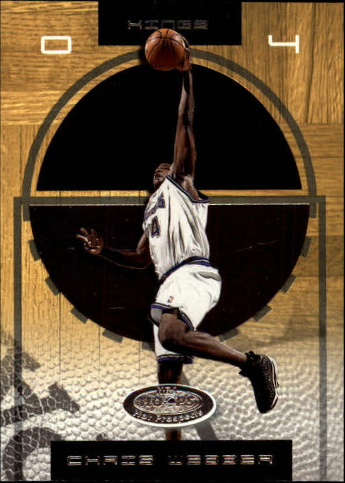 2001-02 Hoops Hot Prospects #56 Chris Webber