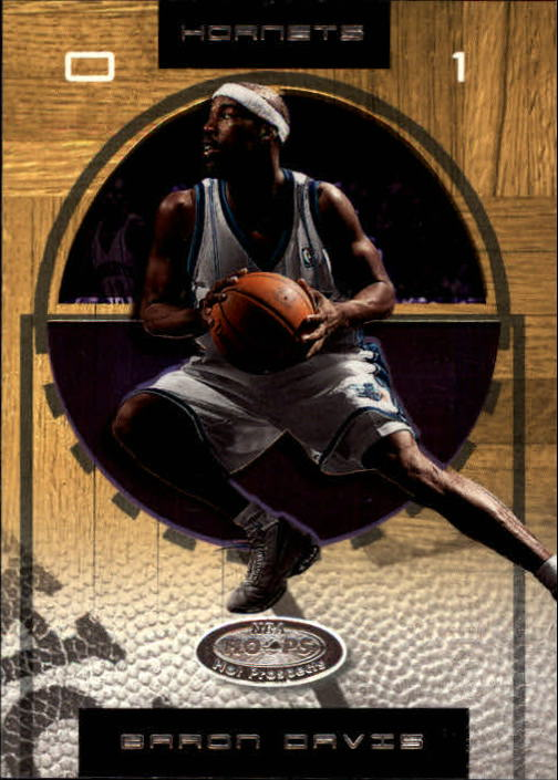2001-02 Hoops Hot Prospects #59 Baron Davis