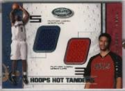 2001-02 Hoops Hot Prospects Hot Tandems #39 Tyson Chandler/Kwame Brown