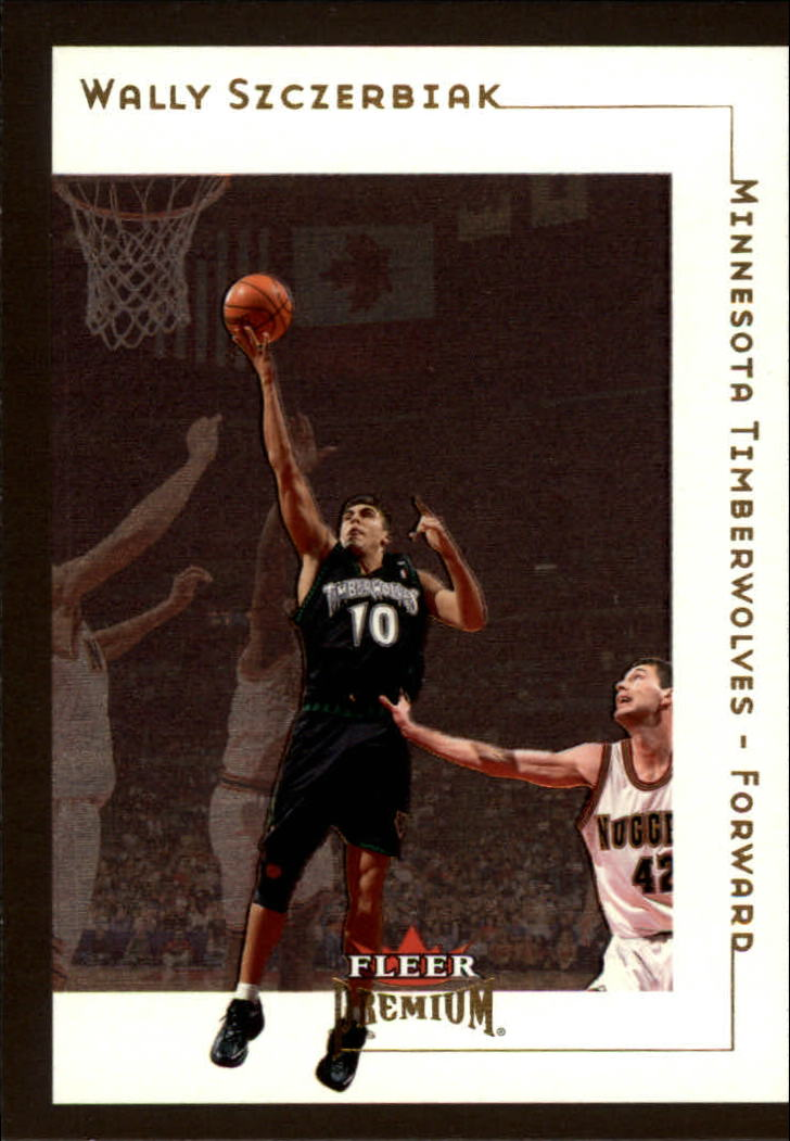 2001-02 Fleer Premium #45 Wally Szczerbiak