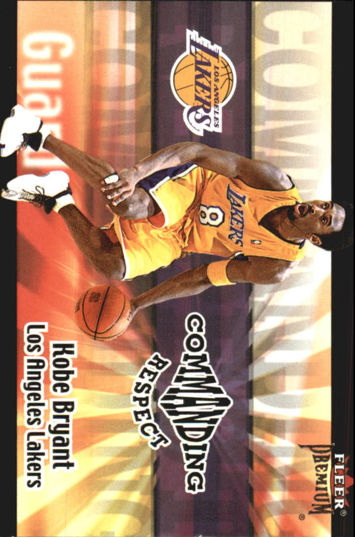 2001-02 Fleer Premium Commanding Respect #5 Kobe Bryant