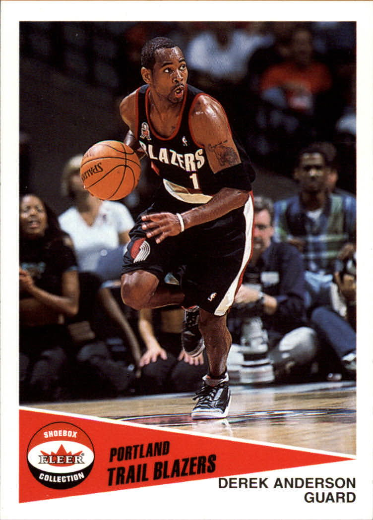 2001-02 Fleer Shoebox #3 Derek Anderson
