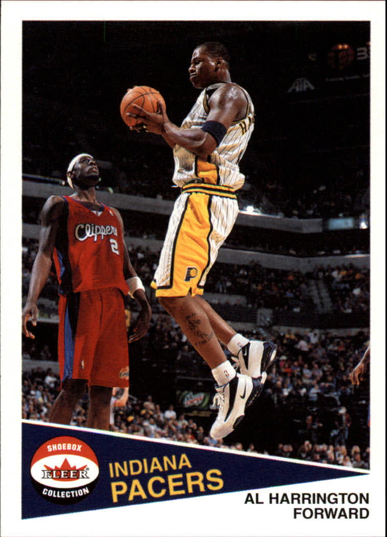 2001-02 Fleer Shoebox #5 Al Harrington