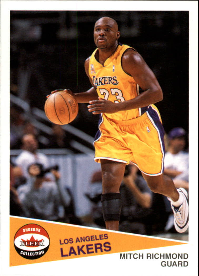 2001-02 Fleer Shoebox #6 Mitch Richmond