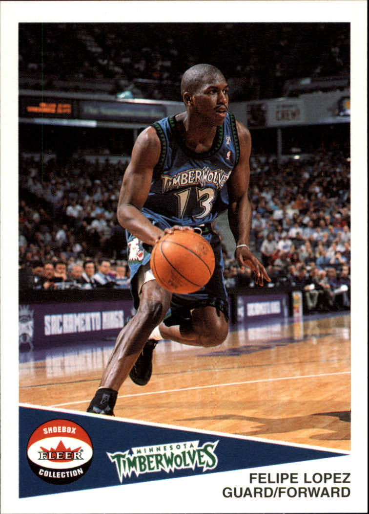 2001-02 Fleer Shoebox #7 Felipe Lopez