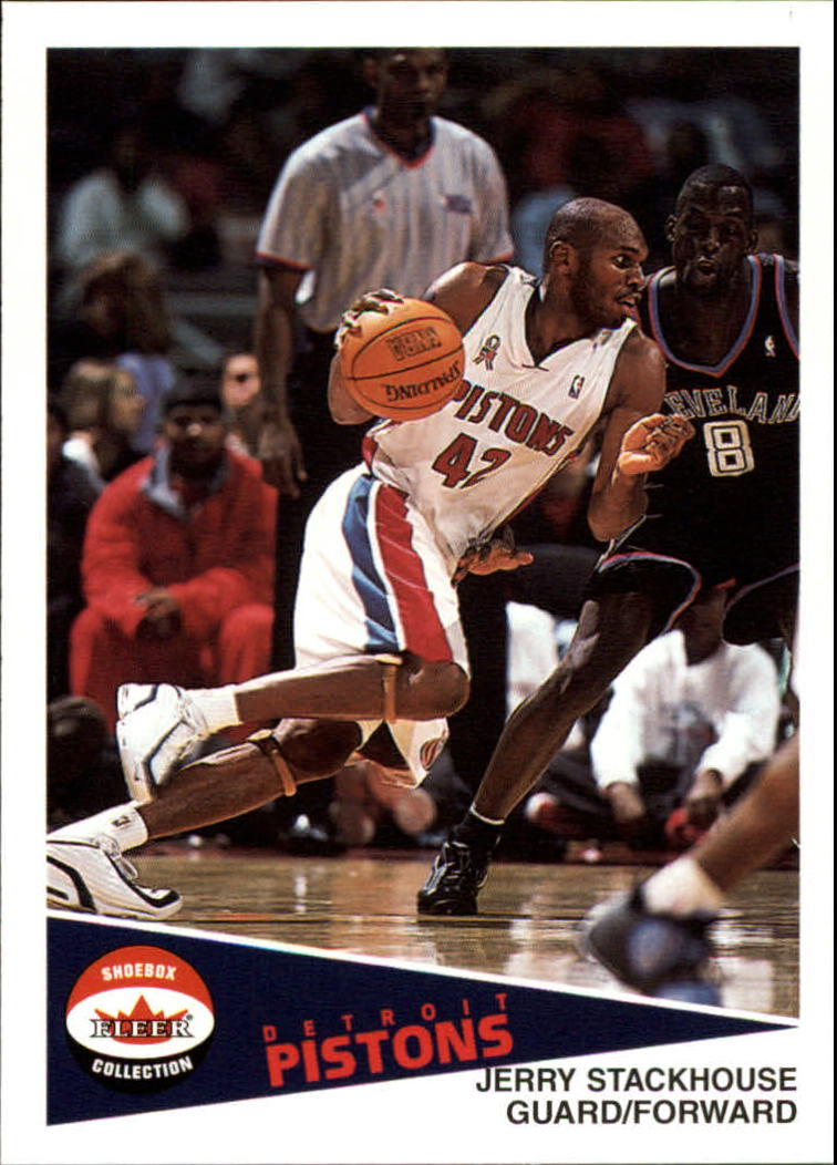 2001-02 Fleer Shoebox #9 Jerry Stackhouse