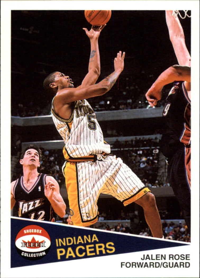 2001-02 Fleer Shoebox #10 Jalen Rose