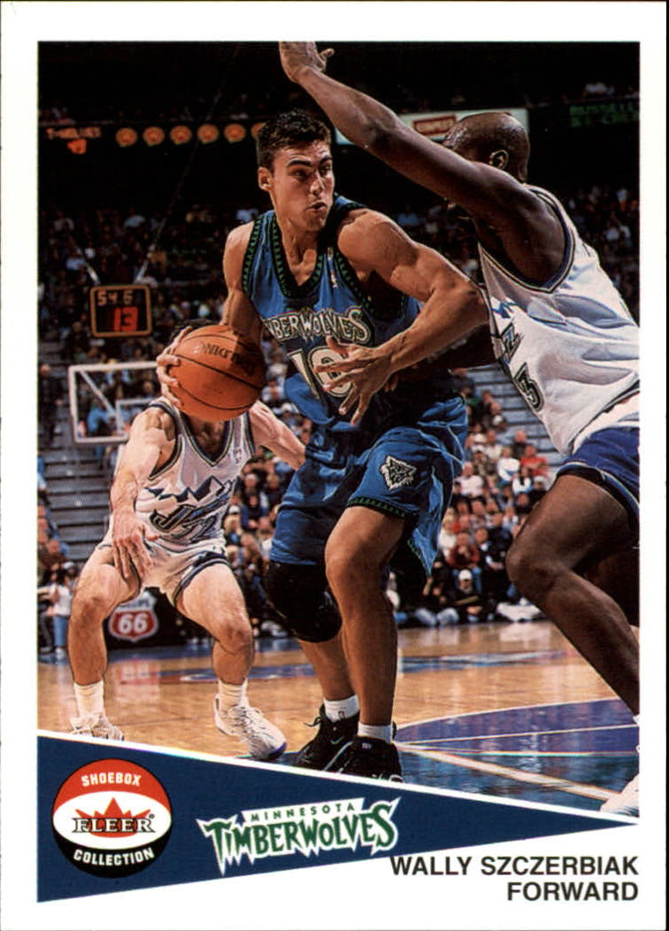 2001-02 Fleer Shoebox #13 Wally Szczerbiak