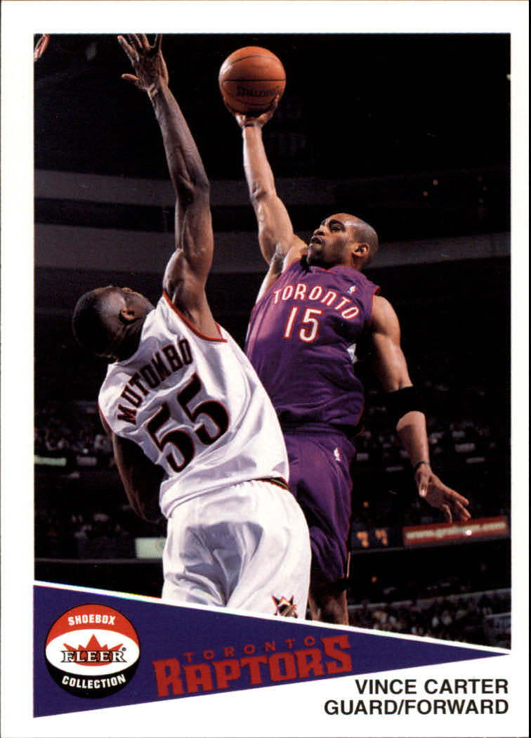 2001-02 Fleer Shoebox #14 Vince Carter