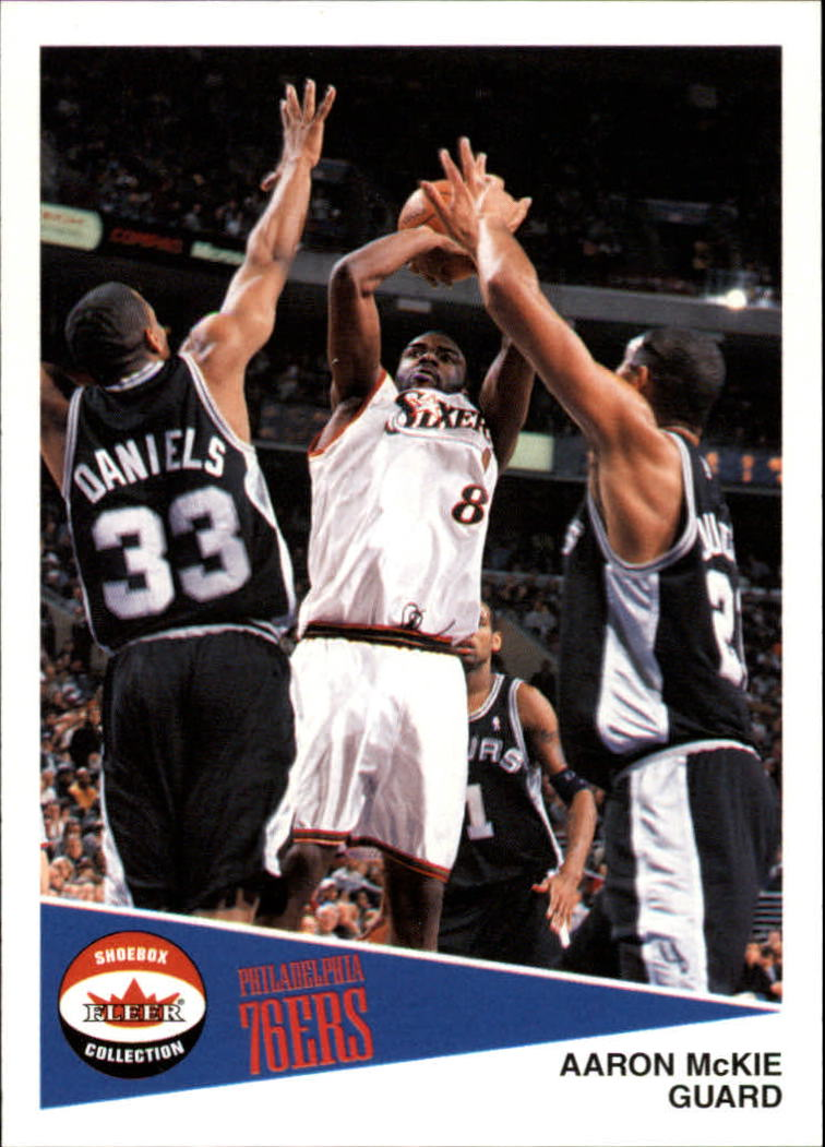 2001-02 Fleer Shoebox #17 Aaron McKie