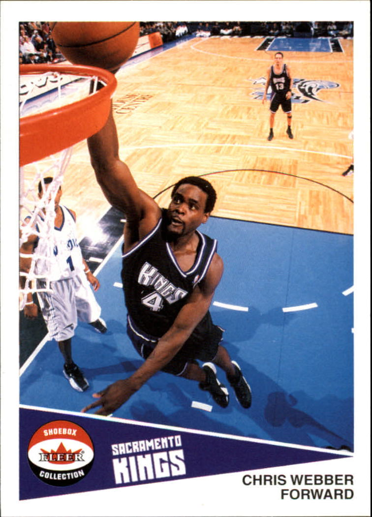 2001-02 Fleer Shoebox #19 Chris Webber