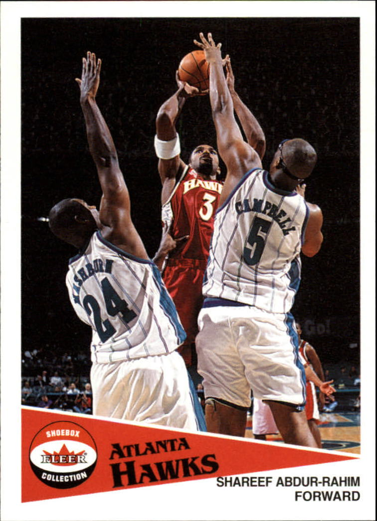 2001-02 Fleer Shoebox #21 Shareef Abdur-Rahim