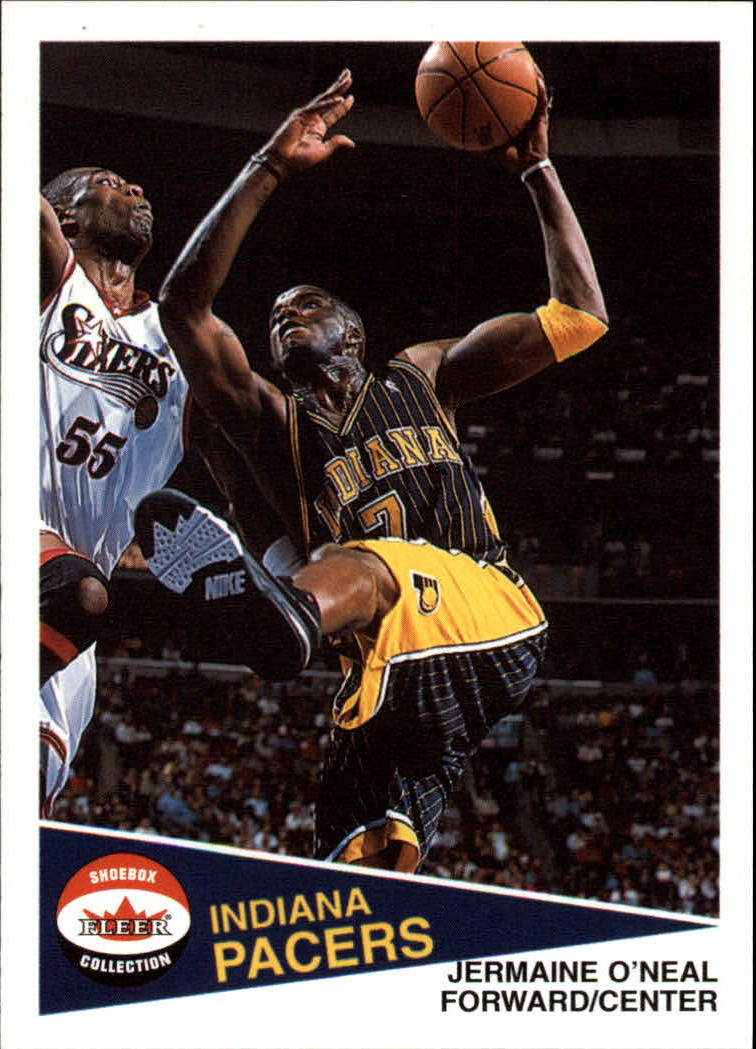 2001-02 Fleer Shoebox #24 Jermaine O'Neal
