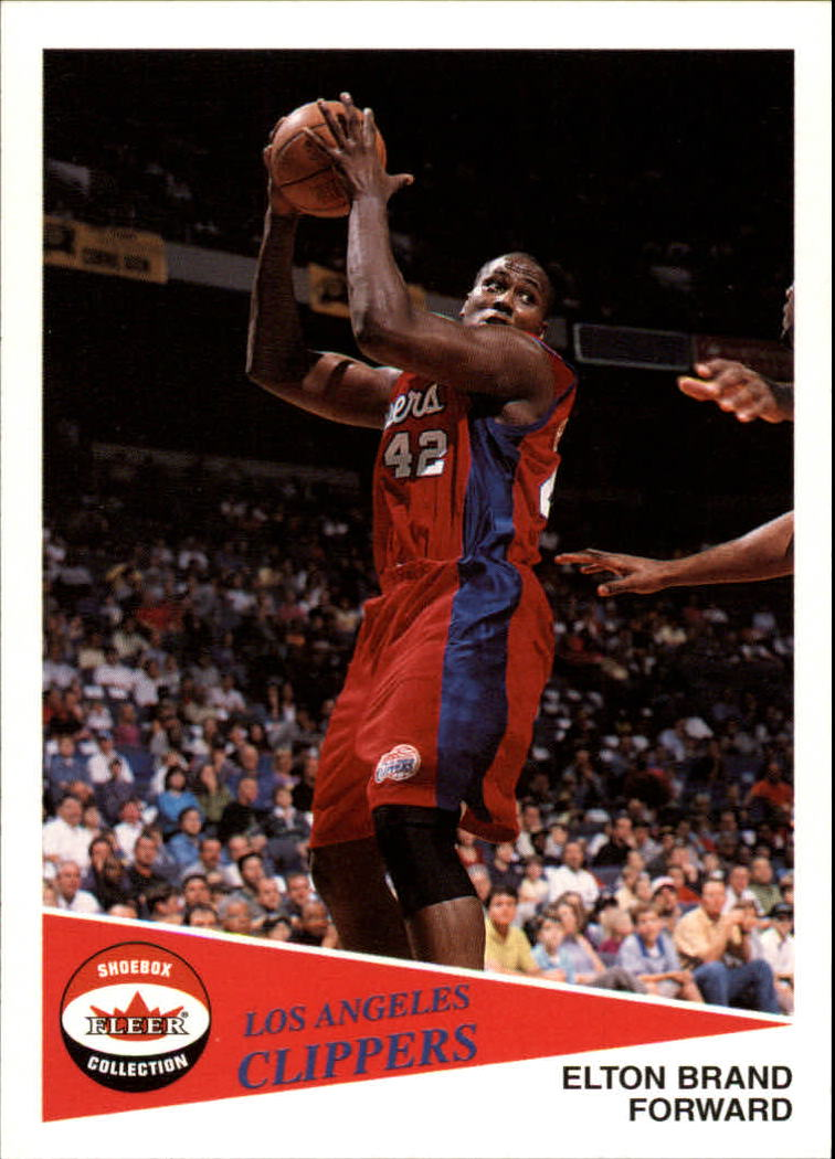 2001-02 Fleer Shoebox #25 Elton Brand