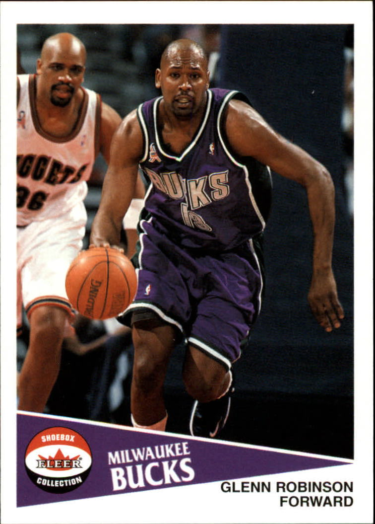 2001-02 Fleer Shoebox #26 Glenn Robinson