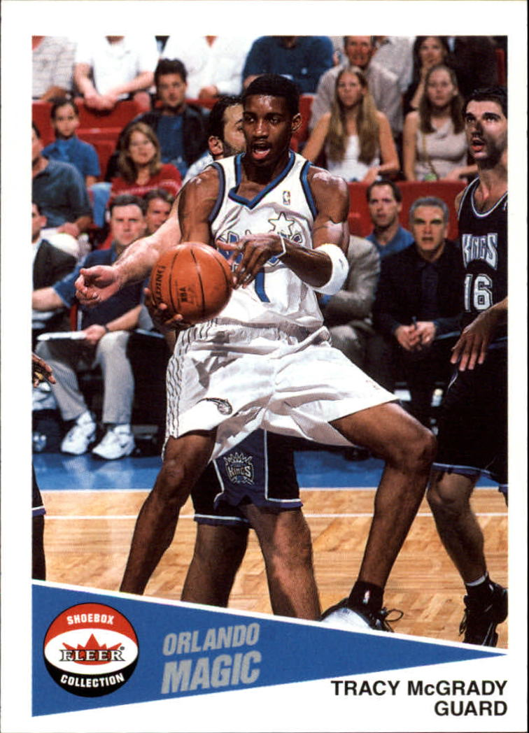 2001-02 Fleer Shoebox #27 Tracy McGrady