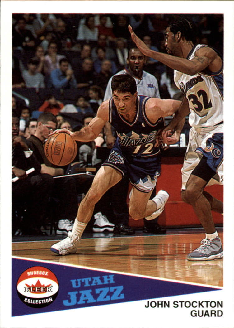 2001-02 Fleer Shoebox #32 John Stockton
