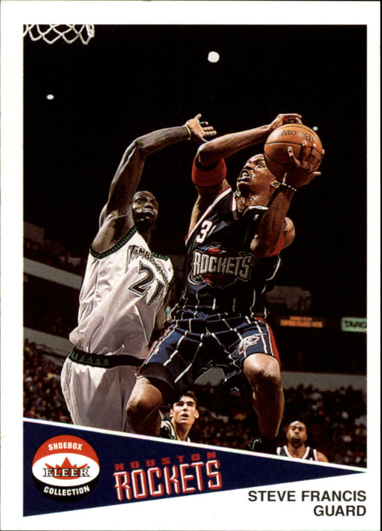 2001-02 Fleer Shoebox #40 Steve Francis