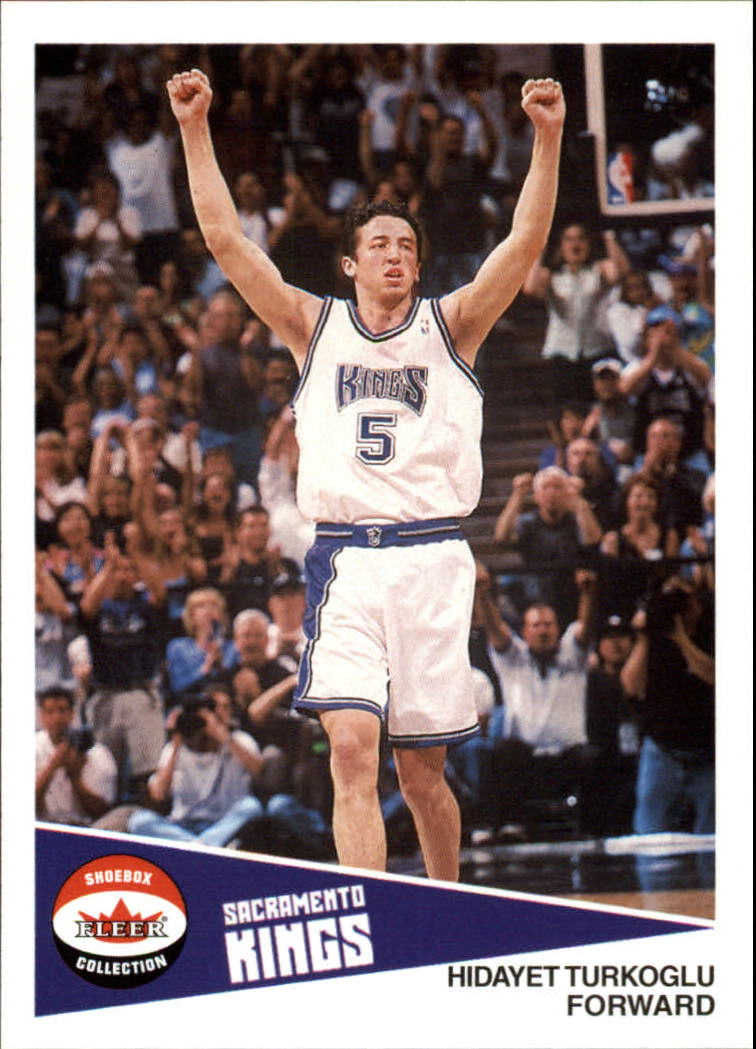 2001-02 Fleer Shoebox #42 Hedo Turkoglu
