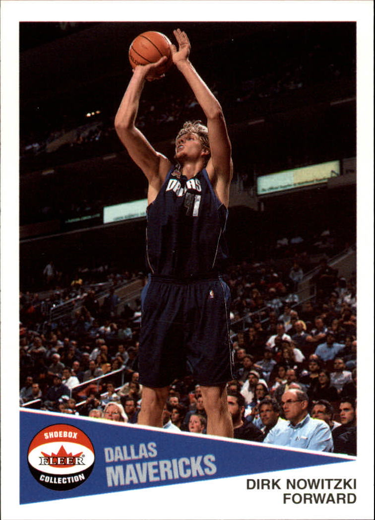 2001-02 Fleer Shoebox #44 Dirk Nowitzki