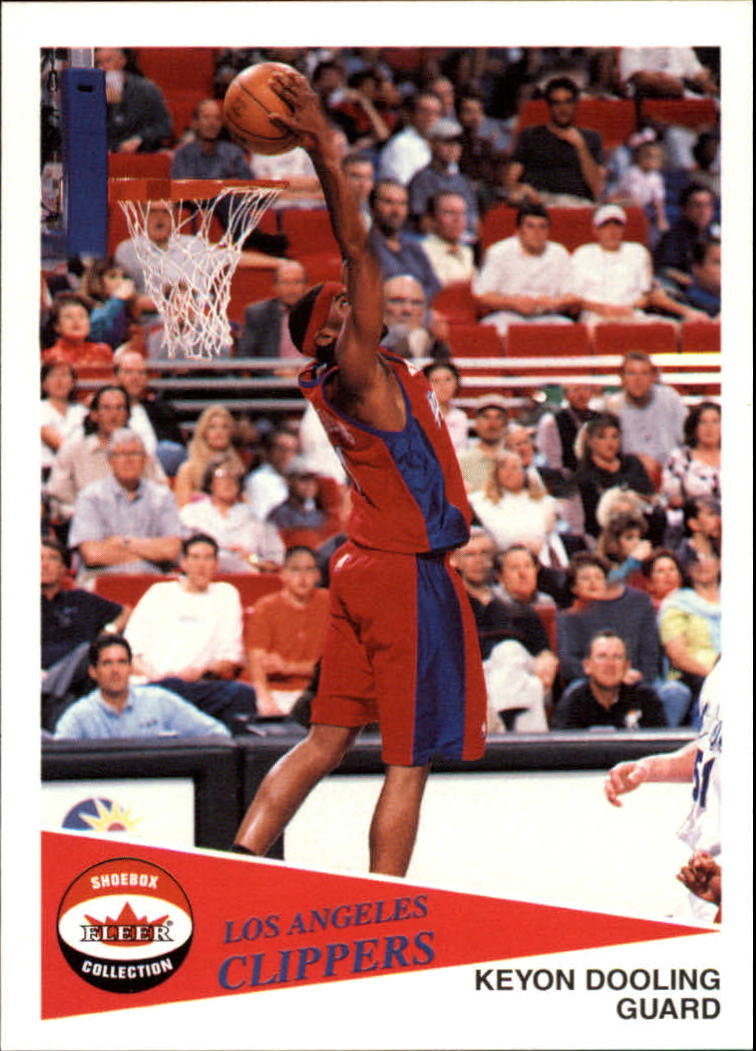 2001-02 Fleer Shoebox #45 Keyon Dooling
