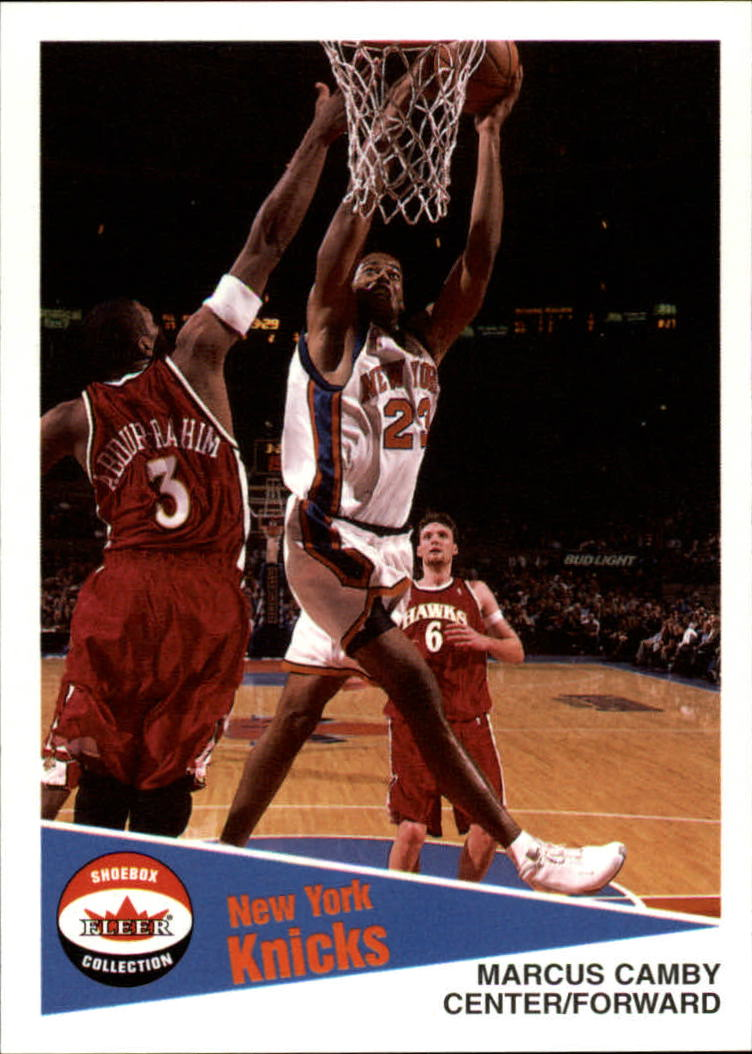 2001-02 Fleer Shoebox #46 Marcus Camby