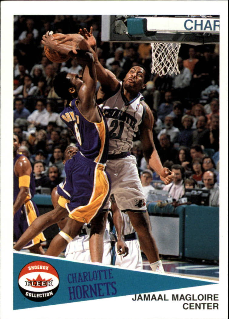 2001-02 Fleer Shoebox #49 Jamaal Magloire