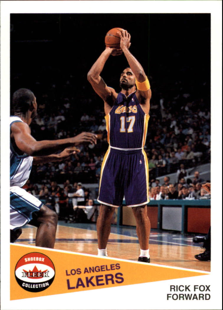2001-02 Fleer Shoebox #50 Rick Fox