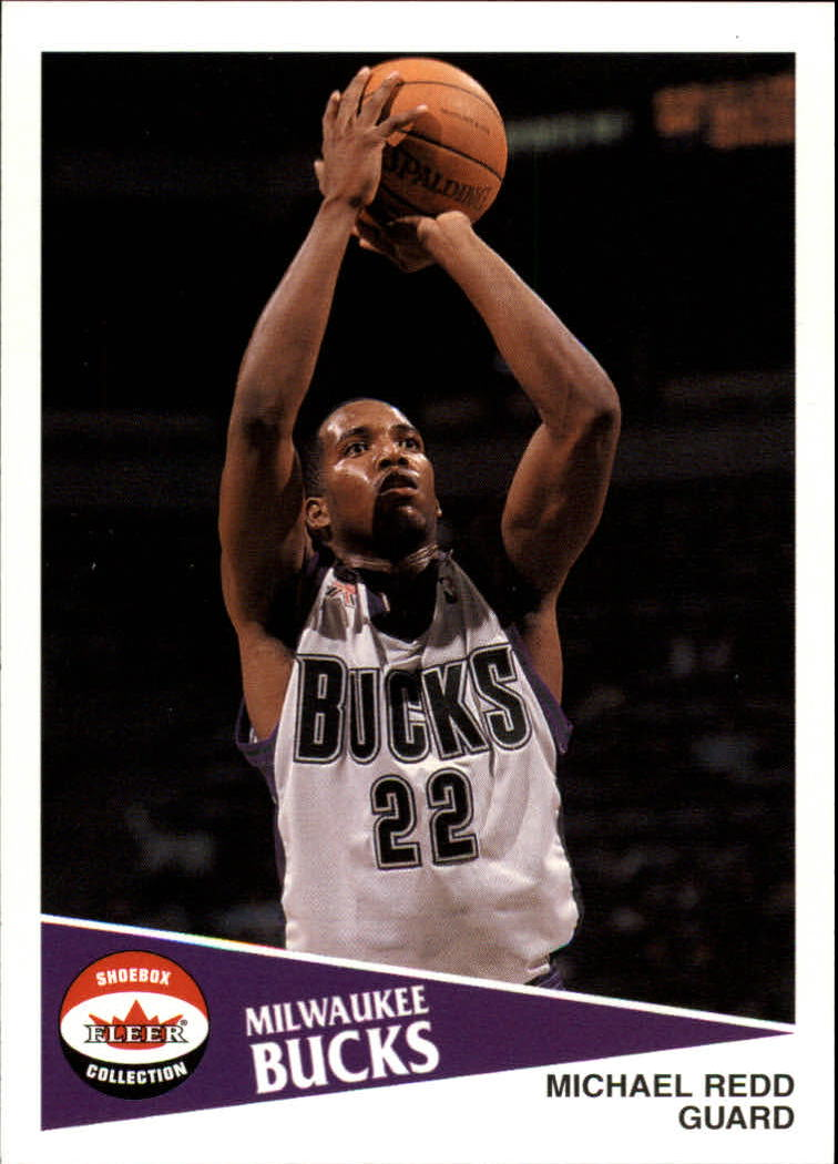 2001-02 Fleer Shoebox #52 Michael Redd