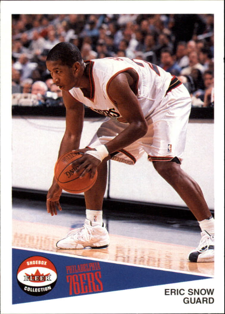 2001-02 Fleer Shoebox #54 Eric Snow