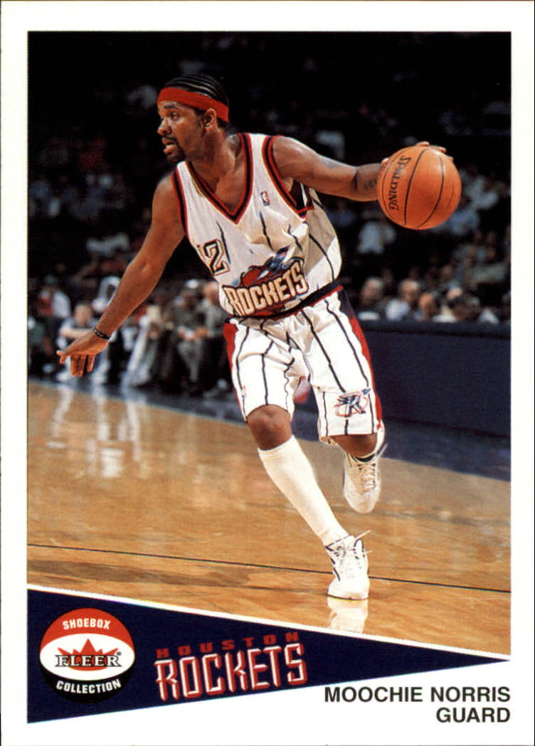 2001-02 Fleer Shoebox #57 Moochie Norris