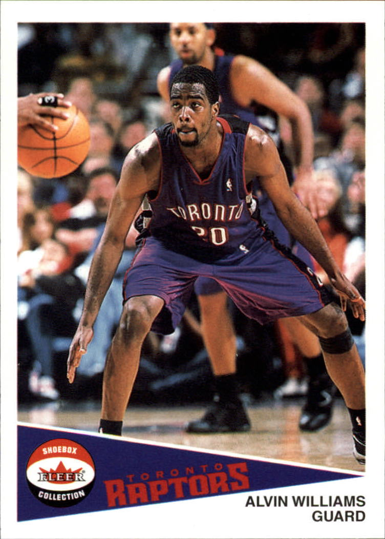2001-02 Fleer Shoebox #61 Alvin Williams