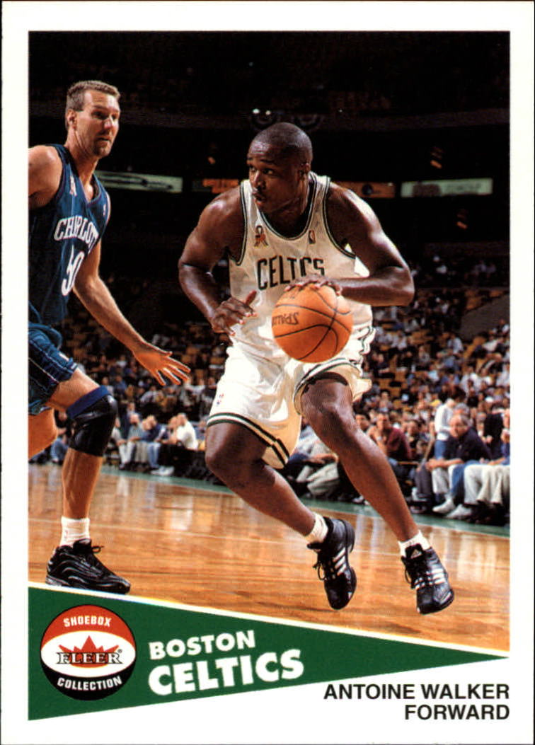 2001-02 Fleer Shoebox #62 Antoine Walker