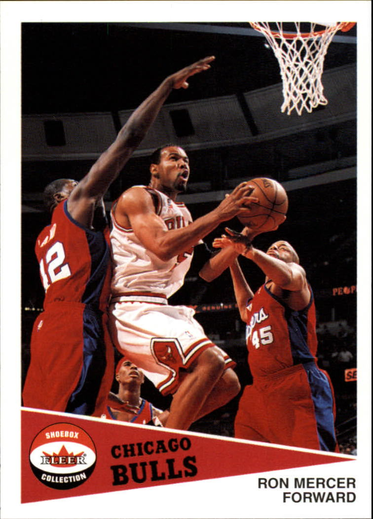 2001-02 Fleer Shoebox #65 Ron Mercer