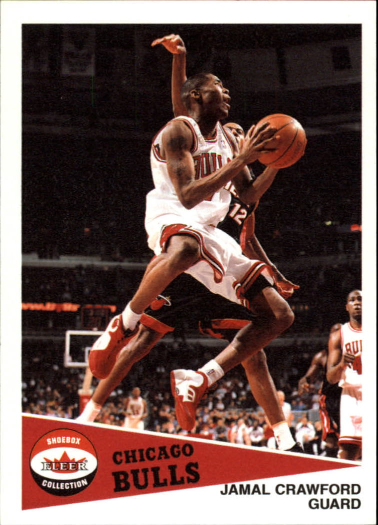 2001-02 Fleer Shoebox #67 Jamal Crawford