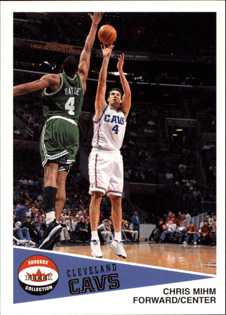 2001-02 Fleer Shoebox #68 Chris Mihm