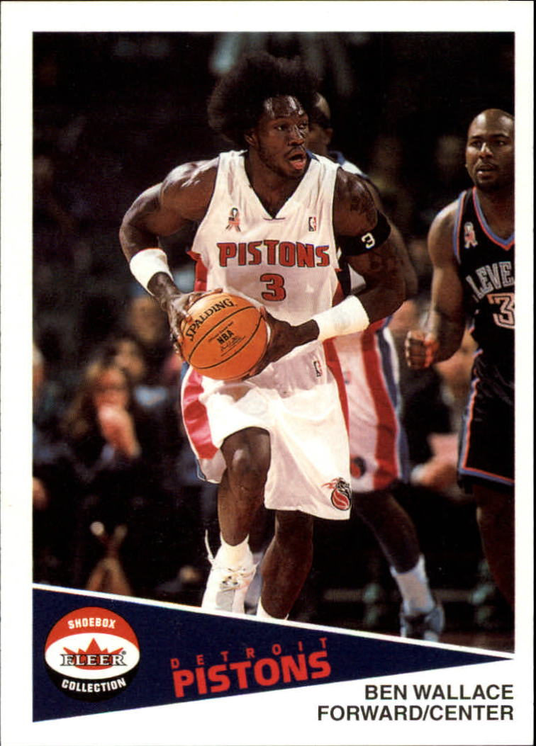 2001-02 Fleer Shoebox #69 Ben Wallace