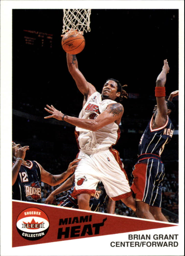 2001-02 Fleer Shoebox #70 Brian Grant