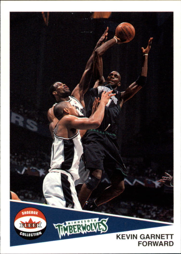 2001-02 Fleer Shoebox #71 Kevin Garnett