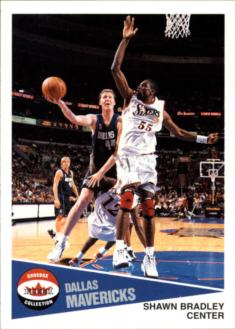 2001-02 Fleer Shoebox #73 Shawn Bradley