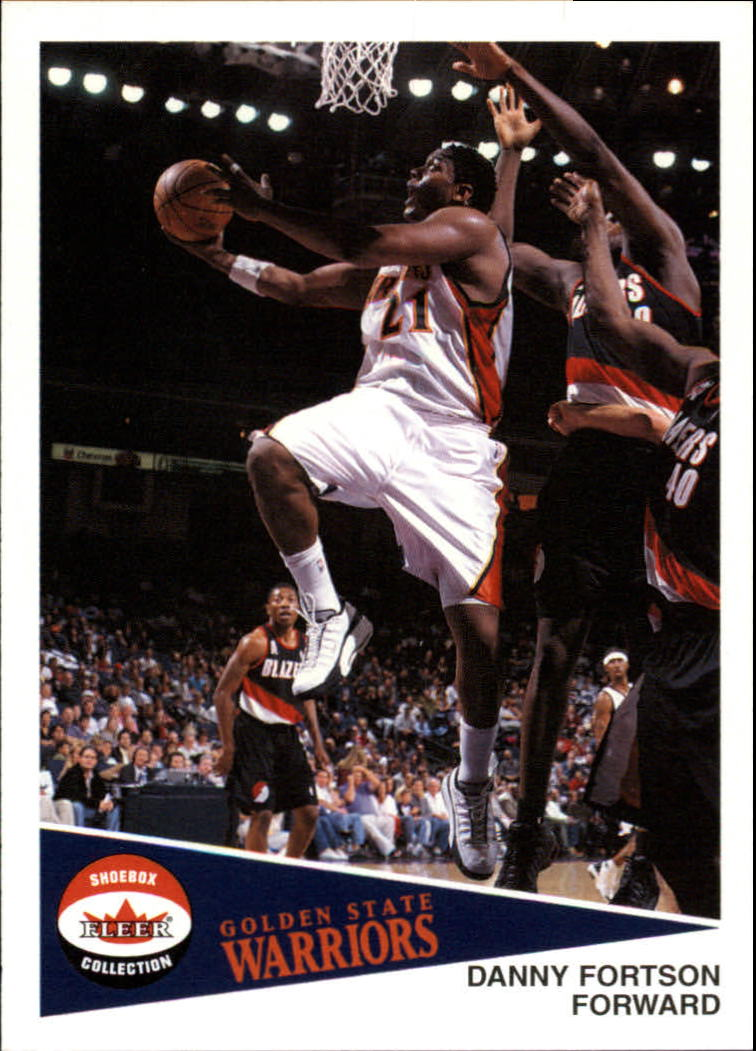 2001-02 Fleer Shoebox #74 Danny Fortson